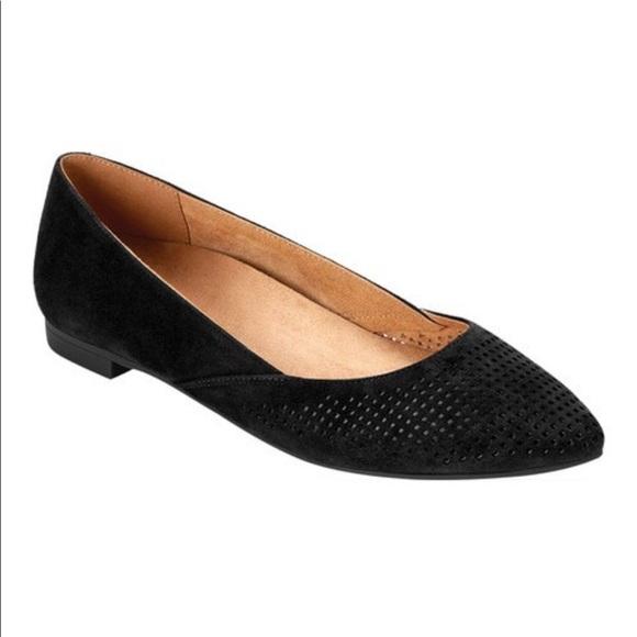 Womens Gem Posey Ballet Flat Black Size 7 Vionic qteTGT